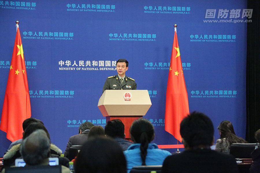 2019年12月国防部例行记者会文字